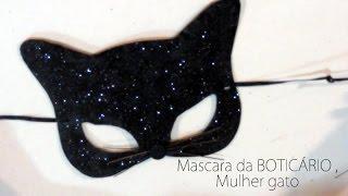 getlinkyoutube.com-Mascara da BOTICÁRIO , Mulher gato - #VEDA9