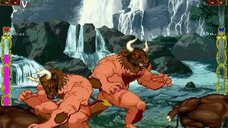 getlinkyoutube.com-MUGEN:Minotaur and Ox(牛頭牌與牛)