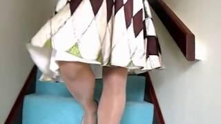 getlinkyoutube.com-Silk Dress Stockings