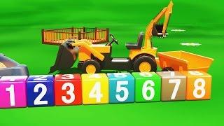 getlinkyoutube.com-Cartoni animati per bambini | Al parco giochi: il bulldozer escavatore