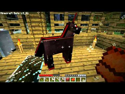 Minecraft Ep. 17: Monster Spawner/Trap &amp; Gravity Staff Mod + Pegasus &amp; Nightmare Unicorn