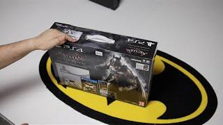 فتح علبة واستعراض جهاز PS4 Batman Arkham Knight Edition