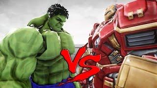 getlinkyoutube.com-The Incredible Hulk VS Hulkbuster - EPIC BATTLE