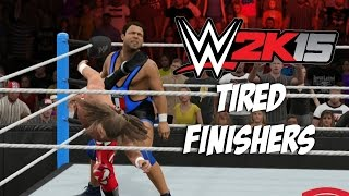 getlinkyoutube.com-WWE 2K15 - Fainted Finishers! - Batista Bomb, AA, RKO, Pedigree, Sweet Chin and more!!