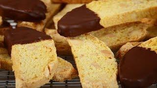 getlinkyoutube.com-Almond Biscotti Recipe Demonstration - Joyofbaking.com