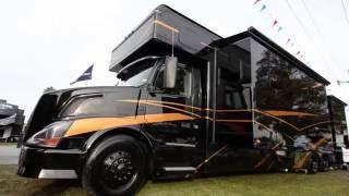 getlinkyoutube.com-2016 Haulmark Motorcoach 45DB Exterior Tour & Volvo Chassies Overview