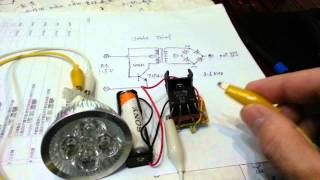 getlinkyoutube.com-1.2V AA joule thief 12v LED