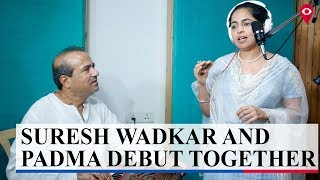 Suresh Wadkar and Padma Wadkar to debut together for the first time