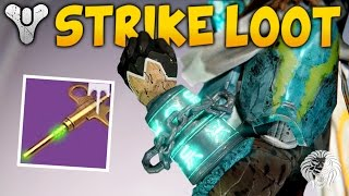 getlinkyoutube.com-Destiny: ALL NEW STRIKE LOOT ITEMS! Rise of Iron Strike Specific Rewards & Gameplay