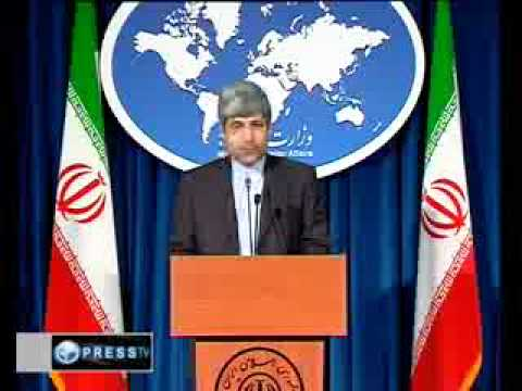 Foreign MP, Ramin Mehmanparast, is very much scared of US  & NATO April 2010