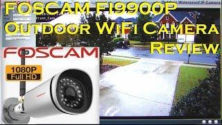 getlinkyoutube.com-FOSCAM FI9900P Outdoor HD WiFi IP Camera Full Review