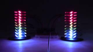 getlinkyoutube.com-Mini LED Volume Towers (VU Meters)