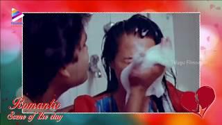 getlinkyoutube.com-Real Couple Reel Romance | Romantic Scene Of The Day | Nagarjuna | Amala