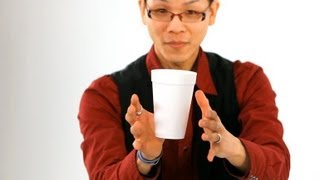 getlinkyoutube.com-How to Do the Floating Coffee Cup Trick | Magic Tricks