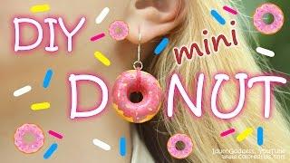 getlinkyoutube.com-DIY Mini Donuts Jewelry - How To Make Donut Earrings, Bracelet and Pendant Tutorial