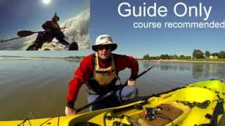 getlinkyoutube.com-How to Launch & Land your Fishing kayak in the surf