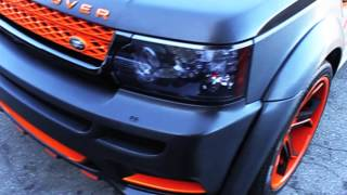getlinkyoutube.com-Project Range Rover Sport Hamann + Mansory Wrapped in Brushed black by DBX