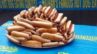 getlinkyoutube.com-Nathans Hot Dog Eating Contest 2013