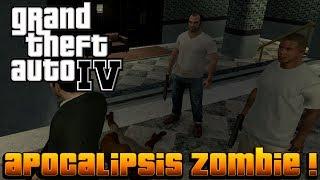 GTA IV MOD - Michael, Franklin y Trevor En Un Apocalipsis Zombie !!