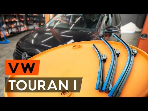 Как заменить щётки стеклоочистителя наVW TOURAN 1 (1T3) (ВИДЕОУРОК AUTODOC)