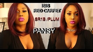 getlinkyoutube.com-BEST SYNTHECTIC BOB WIG EVER - isis red carpet collection pansy