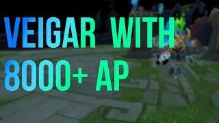 當AP8000時維迦的R會變多大
