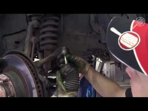 Замена пыльника рулевой тяги