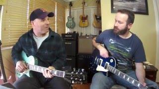 getlinkyoutube.com-Guitar Madness Rd1 - Gibson Les Paul Traditional vs Agile AL-2000