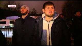 getlinkyoutube.com-Рамзан Кадыров: Дом печати после вылазки террористов в Грозном