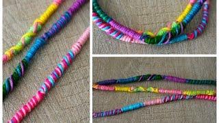 DIY : Bracelet Brésilien Facile rond / Atébas / Tresse indienne