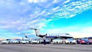 getlinkyoutube.com-Floyd Mayweather Shows off His Private Jet & Crazy Car Collection