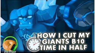 getlinkyoutube.com-SUMMONERS WAR : How I cut my Giants B10 run time in half + comparable suggestions for you.