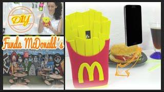 getlinkyoutube.com-Diy fundas para móvil o celular patatas fritas del McDonalds con foamy y silicona