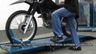 getlinkyoutube.com-Elevador Hidráulico para Motos com Plataforma - Bovenau