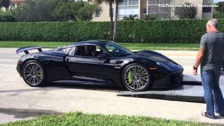 getlinkyoutube.com-Porsche 918 Delivery in Boca Raton