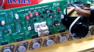 getlinkyoutube.com-Power Amplifier 300 watt upgrade ke 600 watt