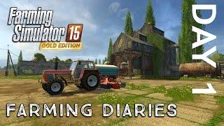 getlinkyoutube.com-Farming Simulator 2015 | Gold Edition Diaries | Day One
