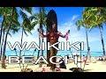 Walking Waikiki Beach, Honolulu, Hawaii, USA