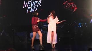 [ENG] Glaiza de Castro's 1st Concert - Dreams Never End (with Rhian Ramos)