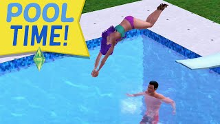 getlinkyoutube.com-POOL TIME & THAT MOM - Sims 3 Ever After Ep. 38
