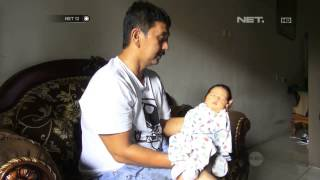 getlinkyoutube.com-NET12 - Bayi yang Dibuang di Sukamenak Bandung Dirawat oleh Keluarga Penemu