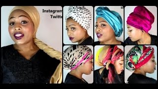 getlinkyoutube.com-Head Wraps TUTORIAL (Chemo & Hair loss friendly) [See Timeline]