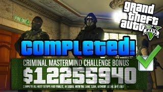 getlinkyoutube.com-GTA Online: $10 Million Heists Challenge COMPLETED w/ Best Tips! (GTA 5 Criminal Mastermind Guide)