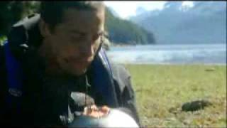 getlinkyoutube.com-Man vs. Wild - Bear, Just Eat It!