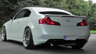 Infinityi G35 HKS Exhaust Work Wheels
