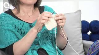 getlinkyoutube.com-Lavorare a maglia con i ferri accorciati a legaccio. Presenta Emma Fassio