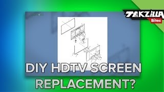 getlinkyoutube.com-Can You Fix a Cracked HDTV Screen?