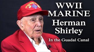 getlinkyoutube.com-WWII Marine Veteran Herman Shirley Discusses Guadalcanal