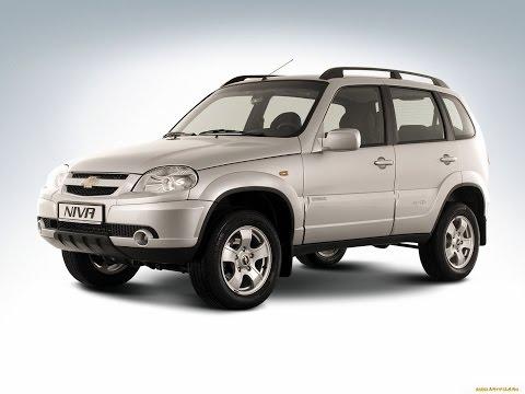 Замена лобового стекла на Chevrolet Niva в Казани.