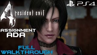 getlinkyoutube.com-Resident Evil 4 (PS4) - Assignment Ada Full Gameplay Walkthrough [1080P 60FPS]